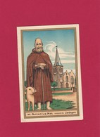 Neogotische Devotieprent  H. Antonius Abt - Godsdienst & Esoterisme