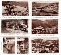 Lot De 6 Images Photos Régionales. Jura Et Doubs, Saint-Claude, Lons Le Saunier, Les Fourgs, Les Etraches, Besançon.... - Vieux Papiers