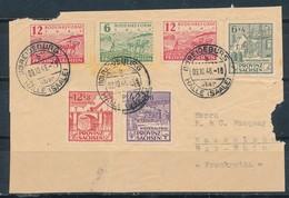 SBZ 87/89 B Gestempelt Auf Briefvorderseite Mi. 150,- +++ - Zona Sovietica