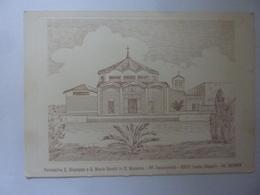 """Cartolina """"Parrocchia S. Giuseppe E S. Maria Goretti In S. Massino - PP Vocazionisti LICOLA"""" - Italia"""