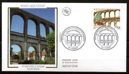 Pont Aqueduc Arcueil Cachan Val De Marne  4503    // Premier Jour FDC   //  2010 - FDC