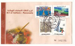 Maroc. 5  FDC. 2011 - Marokko (1956-...)