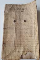 L'HÔTELLERIE Princé Vitré Juridiction Ste Catherine 1ers Timbres Bretagne 1674 Collot D'Escury Protestantisme 320 P - Documents Historiques