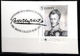 4534 WATERLOO Oblitéré Sur Fragment - Belgique