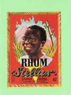 Etiquette Rhum Stellux, L'Union Antilaise, Le Havre, 14x10 Cm - Rhum