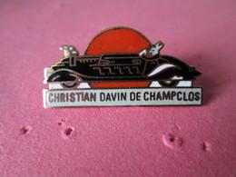 PIN'S    CHRISTIAN DAVIN DE CHAMPCLOS   Email Grand Feu - Badges