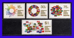 1971 - Singapur - Sc. 129 - 132 - MLH - SI- 136 - Singapur (1959-...)
