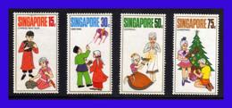 1971 - Singapur - Sc. 138 - 141 - MLH - SI- 137 - Singapur (1959-...)