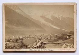 Michel COUTTET & Fils Phot.  Chamonix & M't BLANC Circa 1880 - Photos