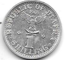 *biafra 1 Shilling 1969 Km 2  Unc - Biafra