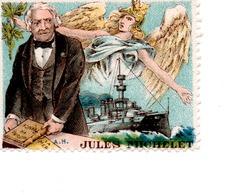 VIGNETTE JULES MICHELET - Poststempel (Briefe)