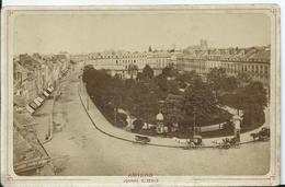 PHOTO Sur CARTON - 16,5 X 10,5 - AMIENS - Square Saint Denis - Photographs