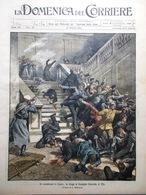 La Domenica Del Corriere 15 Ottobre 1905 Tiflis Terremoto Calabria Aiello Pizzo - Books, Magazines, Comics