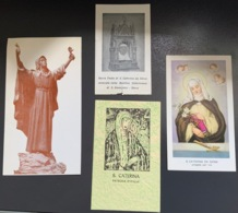 "Santino Holy Card "" S. CATERINA DA SIENA  "" Ed. GMI 7 - Religione & Esoterismo"