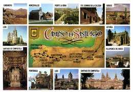 Camino De Santiago Plan + Multivues RV - Cartes Géographiques