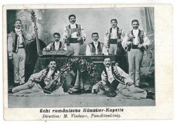 RO 33 - 12278 Gypsy Band Vladescu, Romania - Old Postcard - Used - 1906 - Rumänien