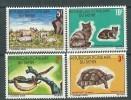 Benin N° 389 / 92 XX Animaux Typiques, Les 4 Valeurs Sans  Charnière , TB - Bénin – Dahomey (1960-...)