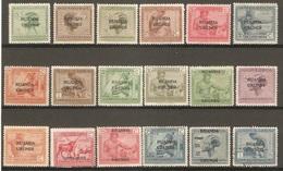 18 Timbres De 1924/27  ( Congo-Belge / Ruanda / Urundi ) - Belgisch-Kongo
