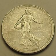 1962 - France - 1 FRANC, Semeuse, KM 925.1, Gad 774 - H. 1 Franc
