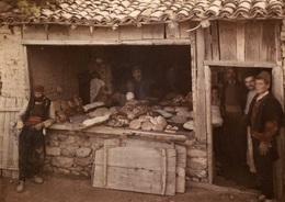 YOUGOSLAVIE - BOULANGERIE De VILLAGE D'OHRID à STRUGA - Photo Auguste LEON 1913 - Coll. Albert KAHN - - Artisanat