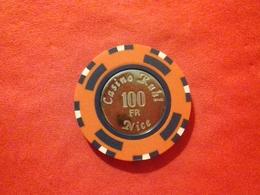 Jeton US Casino Ruhl 100 Francs - Altri