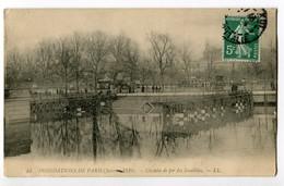 CPA 75 Paris CPA Inondations De Janvier 1910 Chemin De Fer Des Invalides - Inondations De 1910