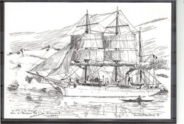 """E44 - Le """" POURQUOI PAS ? """" De Jean-Baptiste CHARCOT Au GROENLAND.(Marine D' Etienne BLANDIN) - Greenland"""