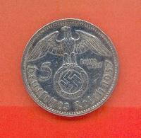 ALLEMAGNE - DEUTSCHESREICH : 5 REICHSMARK 1937 A - [ 4] 1933-1945 : Troisième Reich