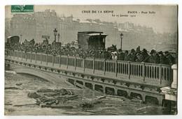CPA 75 Paris - Crue De La Seine - Paris - Pont Sully - Le 17 Janvier 1910 - Inondations De 1910