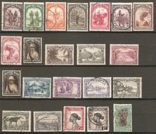 22 Timbres De 1931 & ( Congo-Belge ) - 1923-44: Oblitérés