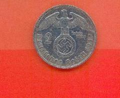 ALLEMAGNE - DEUTSCHESREICH : 2 REICHSMARK 1937 A - 2 Reichsmark