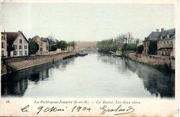 77. La Ferté Sous Jouarre. La Marne. Les 2 Rives. Coin Bas Gauche Abimé - La Ferte Sous Jouarre