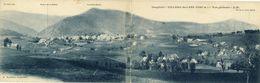 VILLARD-DE-LANS (1056 M) -- VUE  GENERALE     CARTE  PANORAMIQUE 9X28 - Villard-de-Lans