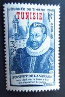 1946 Tunisie Yt 310. Mi 330 . La Varane . Journée Du Timbre . Neuf Petite Trace Charnière - Tunisie (1888-1955)