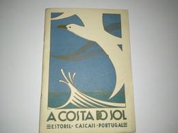 """Livro, Book Portuguese, """"A Costa Do Sol, Estoril, Cascais-Comissão E Turismo Concelho De Cascais 1935"""" -  Portugal - Books, Magazines, Comics"""