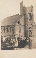 Poelkapelle , Poelcapelle ,Langemark  , FOTOKAART , Kerk , 5 - 4 - 1917 - Langemark-Poelkapelle