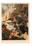 """Propaganda Karte, """" Gebirgsjäger """" - Weltkrieg 1939-45"""