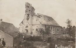 Poelkapelle ,Poelcapelle ,Langemark  , FOTOKAART , Kerk - Langemark-Poelkapelle