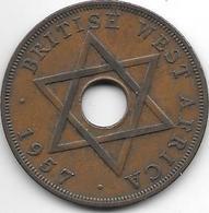 *britisch West Africa 1 Penny 1957  Km 33 Xf - Colonies