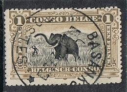 CONGO BELGE N°70 Belle Oblitération De Basankusu - Belgisch-Kongo