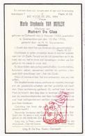 DP Marie S. Van Muylem ° Ophasselt 1884 † Geraardsbergen 1943 X H. De Glas - Images Religieuses