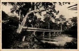 BANGUI - Pont Sur L'M'Poko - En L'état - Centrafricaine (République)