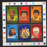 GIBRALTAR  Timbres Neufs ** De1979  ( Ref 5882 ) Année De L'enfant -en Feuillet- - Gibraltar