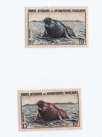 VP8L2 TAAF FSAT Antarctique Neufs°° MNH  Elephant Des Mers Archipel Kerguelen N°6 Et 7 1956 - Terres Australes Et Antarctiques Françaises (TAAF)