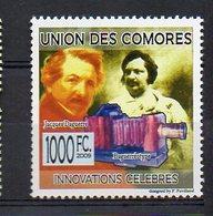 COMORES. INVENTORS. JACQUES DAGUERRE. MNH (2R1535) - Célébrités