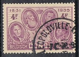 CONGO BELGE N°190 Belle Oblitération De Leopoldville - Congo Belge