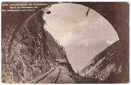 GOPPENSTEIN VS 1910 Lötschberg - Eisenbahn-Tunnel - VS Valais