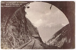GOPPENSTEIN VS 1910 Lötschberg - Eisenbahn-Tunnel - VS Wallis