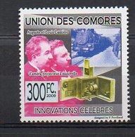 COMORES. INVENTORS. AUGUSTE ET LOUIS LUMIÈRE. MNH (2R1537) - Famous People