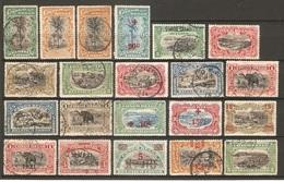 21 Timbres De 1916 & ( Congo-Belge ) - Congo Belge